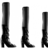 chanel, chanel boots, chanel boots with chain, fall 2013 boots