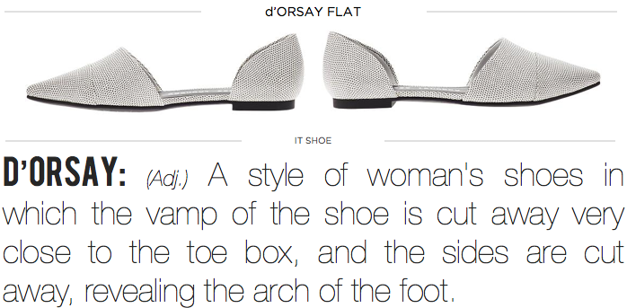 d'orsay flat, jenni kayne, amber venz, what is dorsay flat, dorsay shoe, venzedits, replica d'orsay