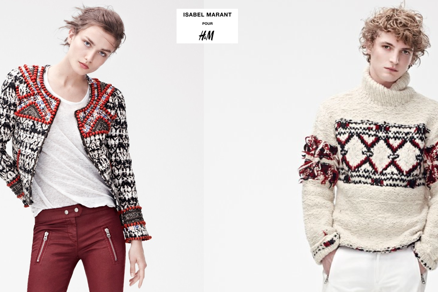 h&m isabel marant, h&m collaboration, amber venz, venzedits, isabel marant sweater, isabel marant jacket