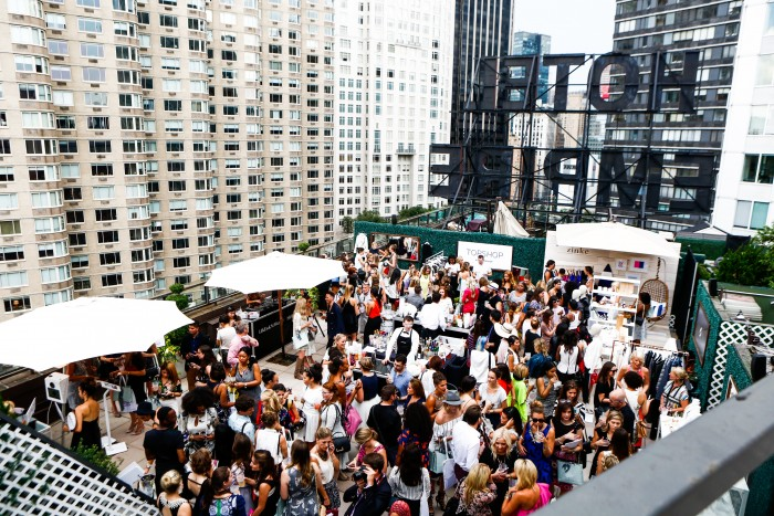 rewardStyle NYFW Rooftop Party with InStyle Magazine