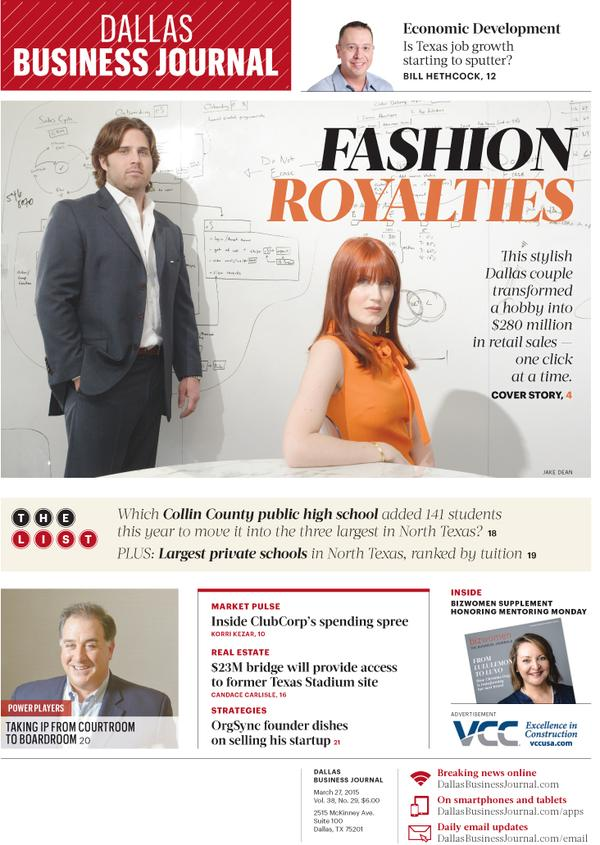 Dallas Business Journal, blogger, rewardStyle, Fashion Royalties, Amber Venz Box, Baxter Box