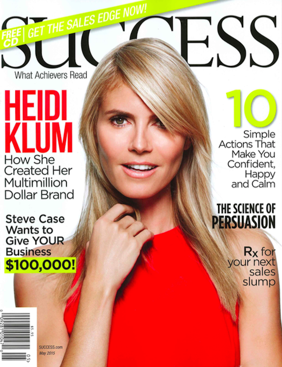 Success Mag Cover