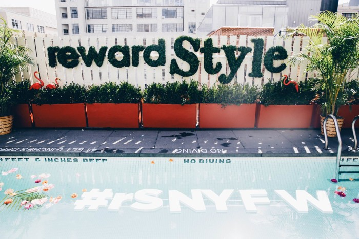 rewardStyle: New York Fashion Week Rooftop Party