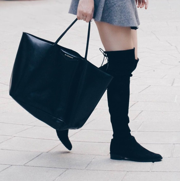 Givenchy Tote and Over the Knee Boots VENZEDITS