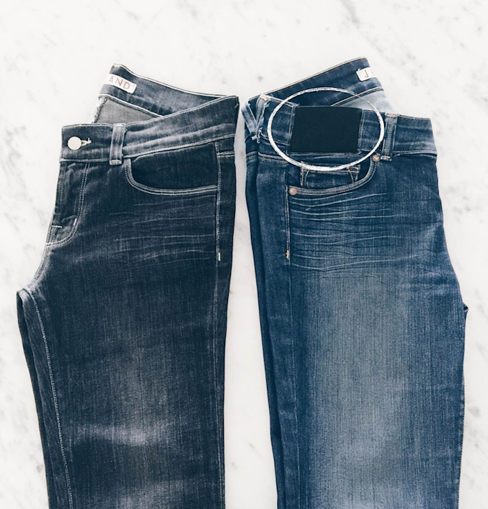How to turn your jeans into maternity jeans