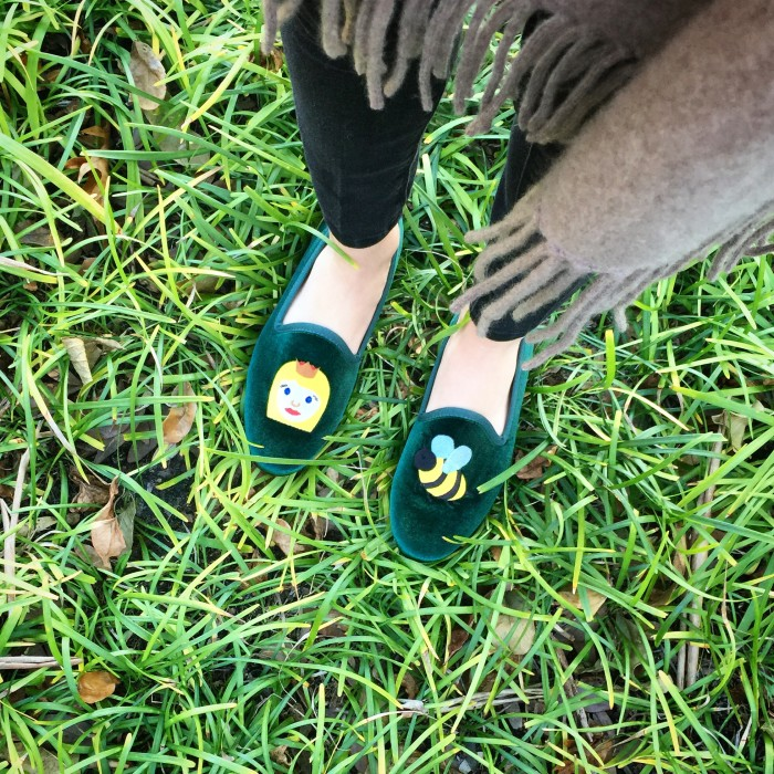 Whitney Wolfe Bumble Personalized Smoking Slippers
