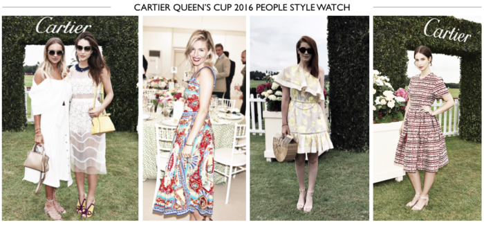 Cartier Queens Cup 2016 People Style Watch