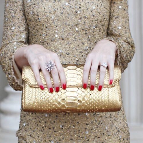 gold sequin holiday