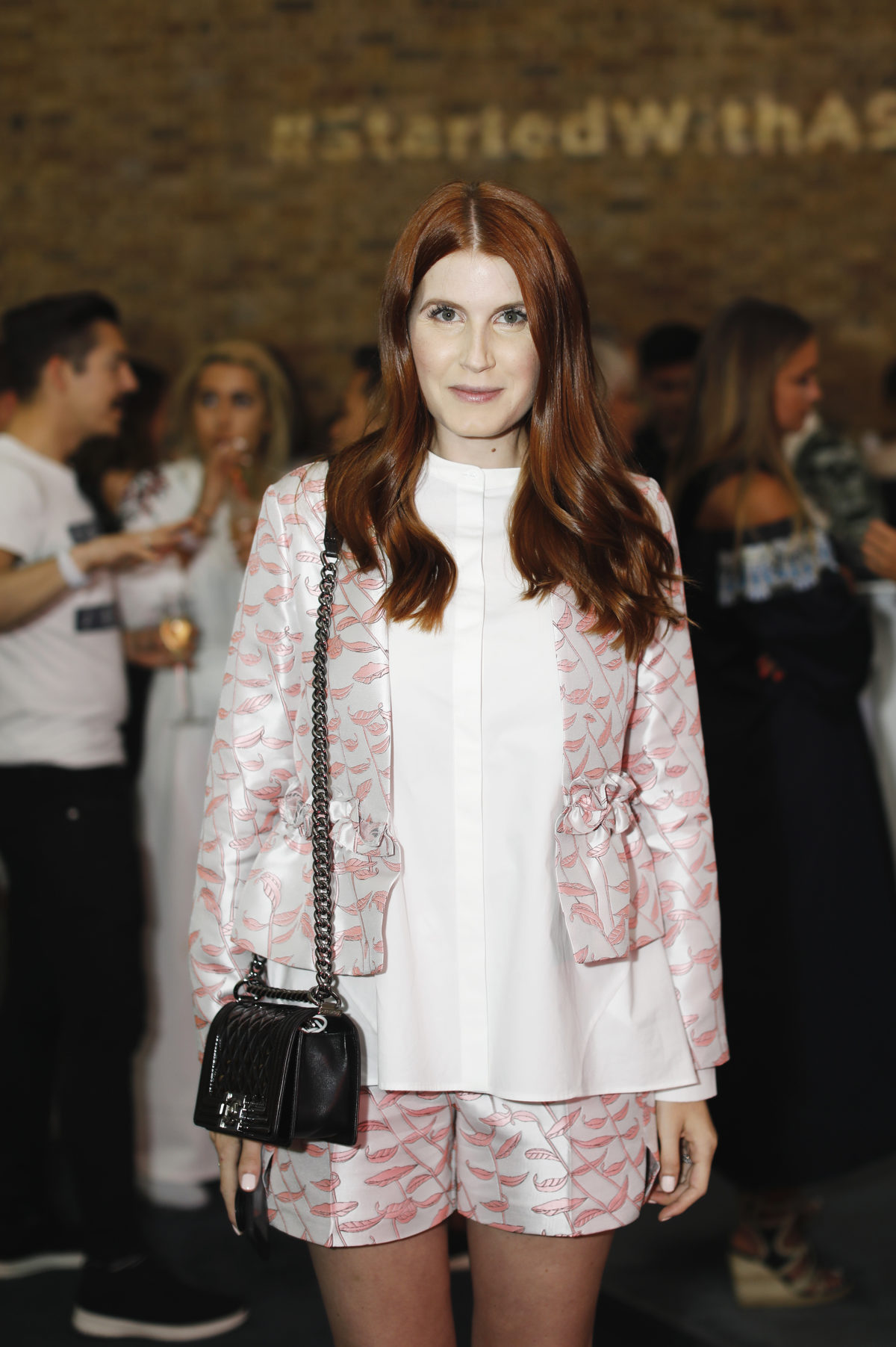 attends the LTK Summer Party at the Serpentine Sackler Gallery on Thursday 15th June 2017.