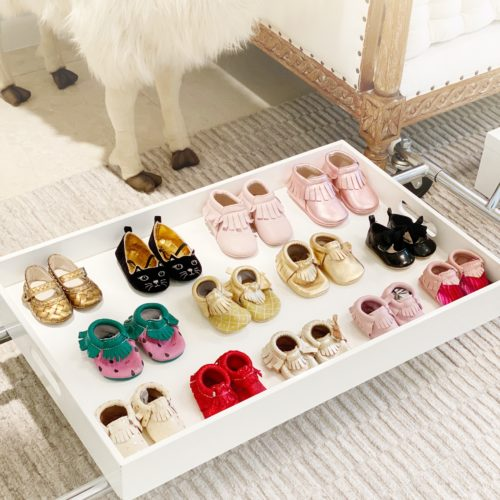 amber venz box, freshly picked, baby shoes, closet giveaway